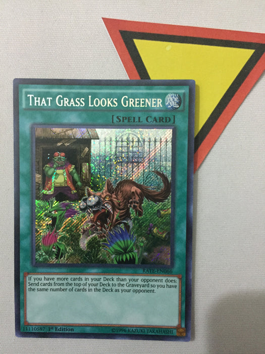 THAT GRASS LOOKS GREENER - SECRET - RATE-EN066 - 1ST