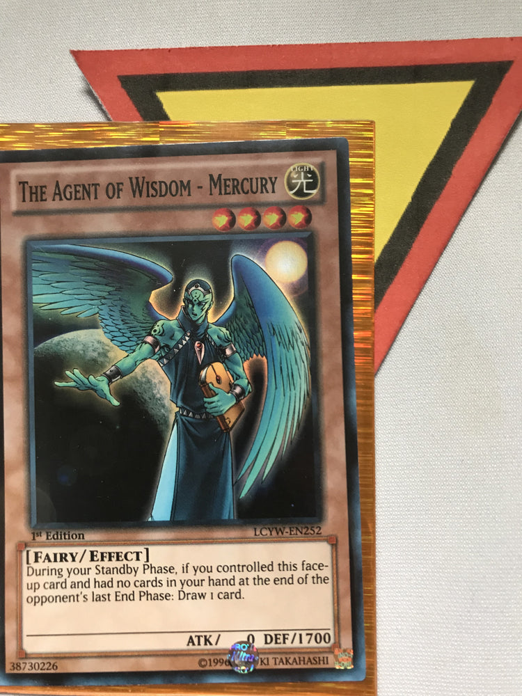 THE AGENT OF WISDOM - MERCURY - SUPER - LCYW-EN252 - 1ST