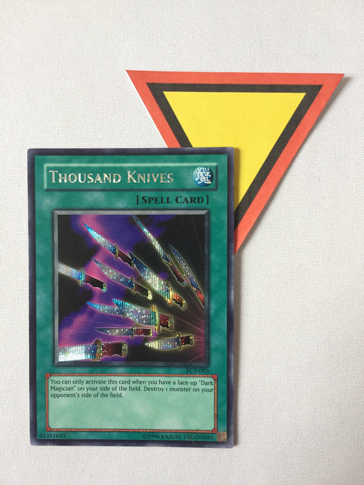THOUSAND KNIVES - PRISMATIC SECRET - PCY-003 - 1ST