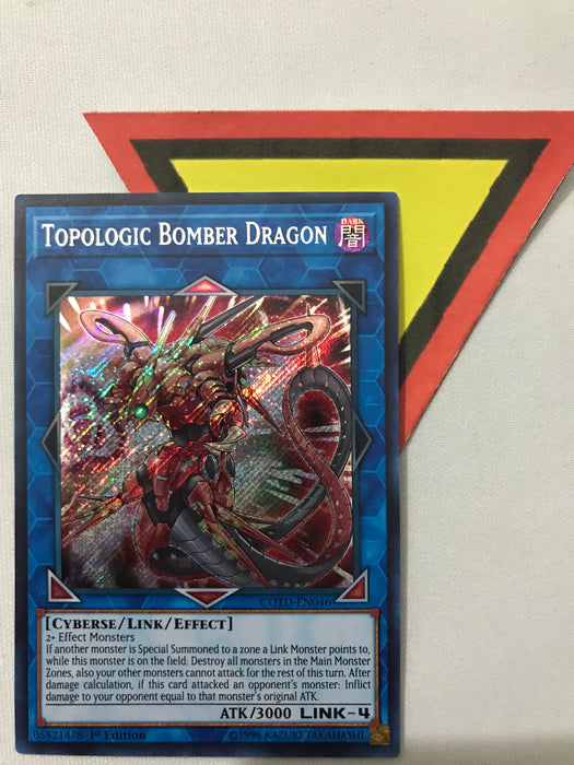 TOPOLOGIC BOMBER DRAGON - SECRET - COTD-EN046 - 1ST