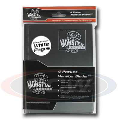 Binder: Monster 4 Pocket Portfolio