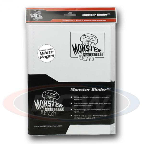 Binder: Monster 9 Pocket Portfolio