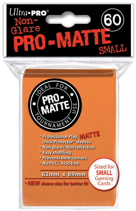 Sleeves: Ultra Pro Pro-Matte (Small)
