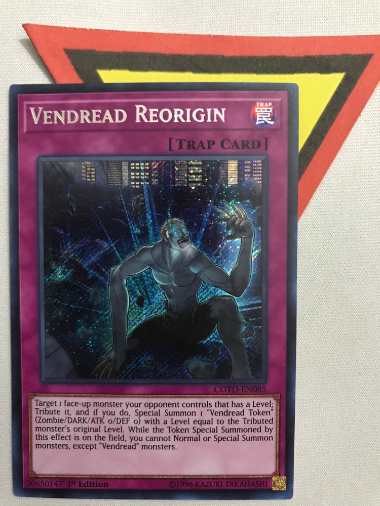 VENDREAD REORIGIN - SECRET - COTD-EN085 - 1ST
