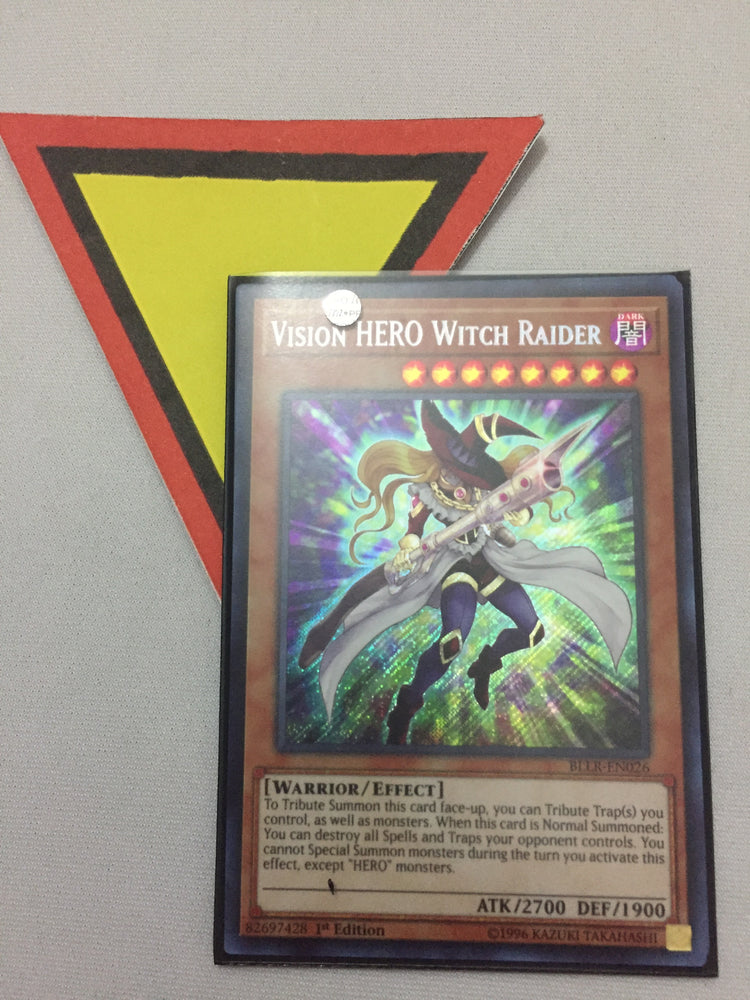 Vision HERO Witch Raider / Secret - BLLR-EN026 - 1st