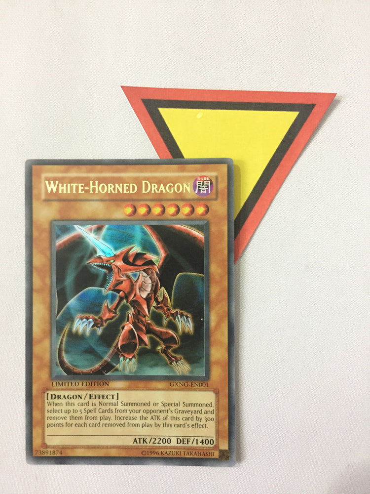 White-Horned Dragon / Ultra - GXNG-EN001 - Lim