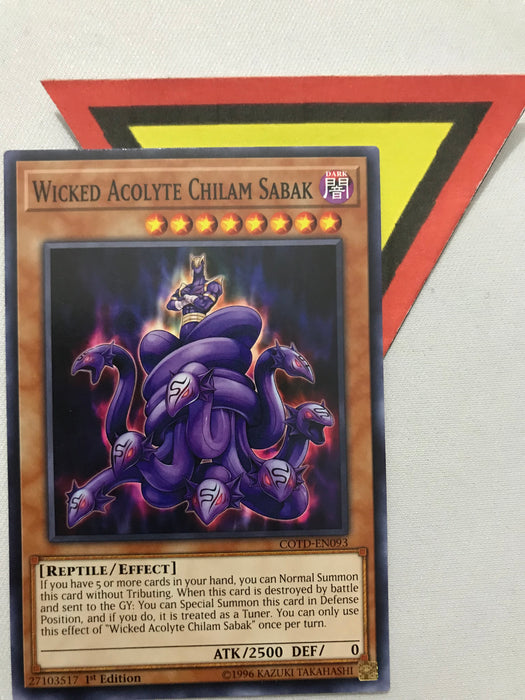 WICKED ACOLYTE CHILAM SABAK - COMMON - COTD-EN093