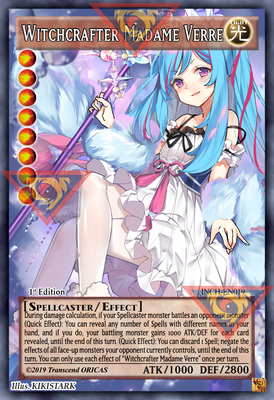 ORICA - Witchcrafter Madame Verre 02 - Full Art
