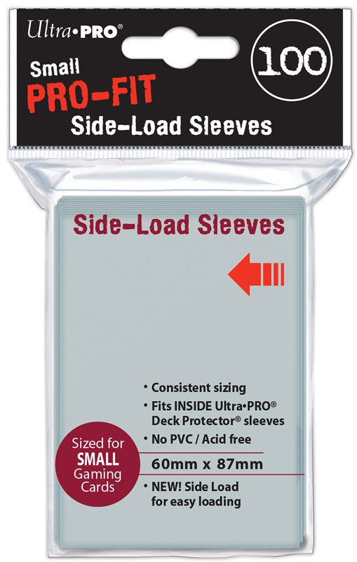 "Ultra Pro - Small Pro-Fit Sleeves ""Side-Load"""