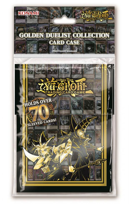 Deck Box: Golden Duelist (FREE SHIPPING CA)