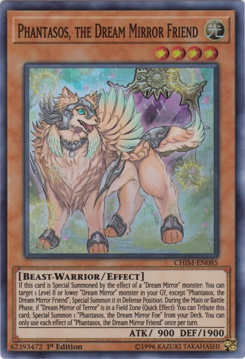 PHANTASOS, THE DREAM MIRROR FRIEND / SUPER-CHIM-EN085-1st