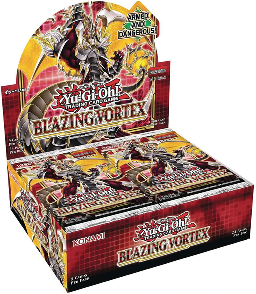 Yugioh Pre-order - Yu-Gi-Oh Blazing Vortex Booster Box (February 5th, 2020)
