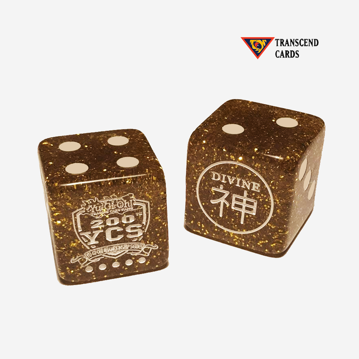 Yugioh! YCS 200 Divine Dice Replica (2 dice) [FREE SHIP IN USA]
