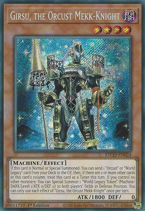 Girsu, the Orcust Mekk-Knight / Secret - ETCO-EN024 - 1st