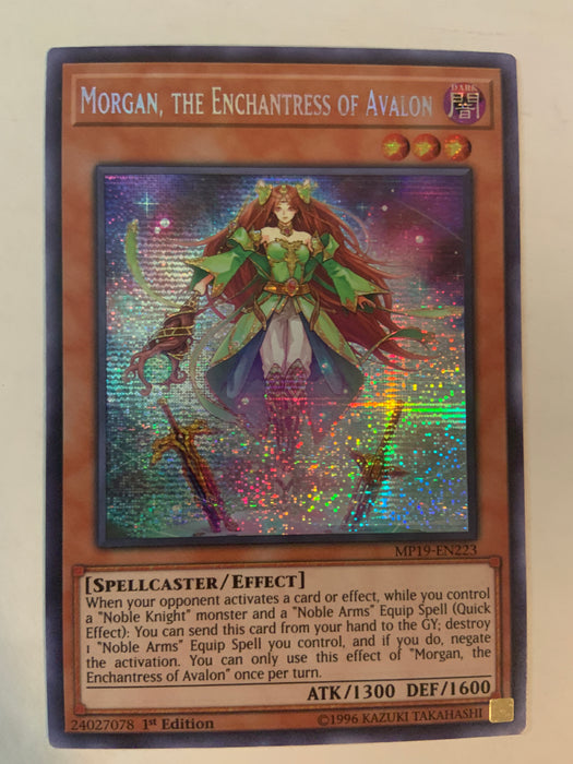 Morgan, the Enchantress of Avalon / Prismatic Secret - MP19-EN223 - 1st