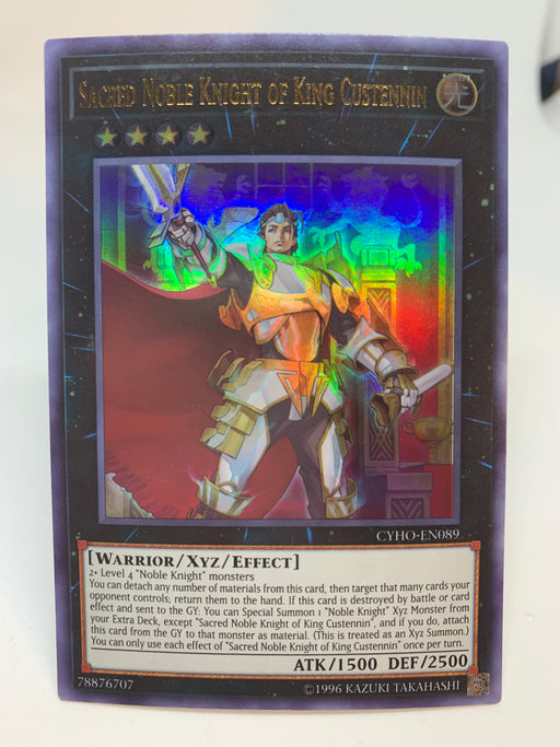 Sacred Noble Knight of King Custennin / Ultra - CYHO-EN089