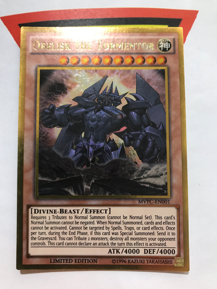 OBELISK THE TORMENTOR - GOLD - MVPC-EN001 - LIM