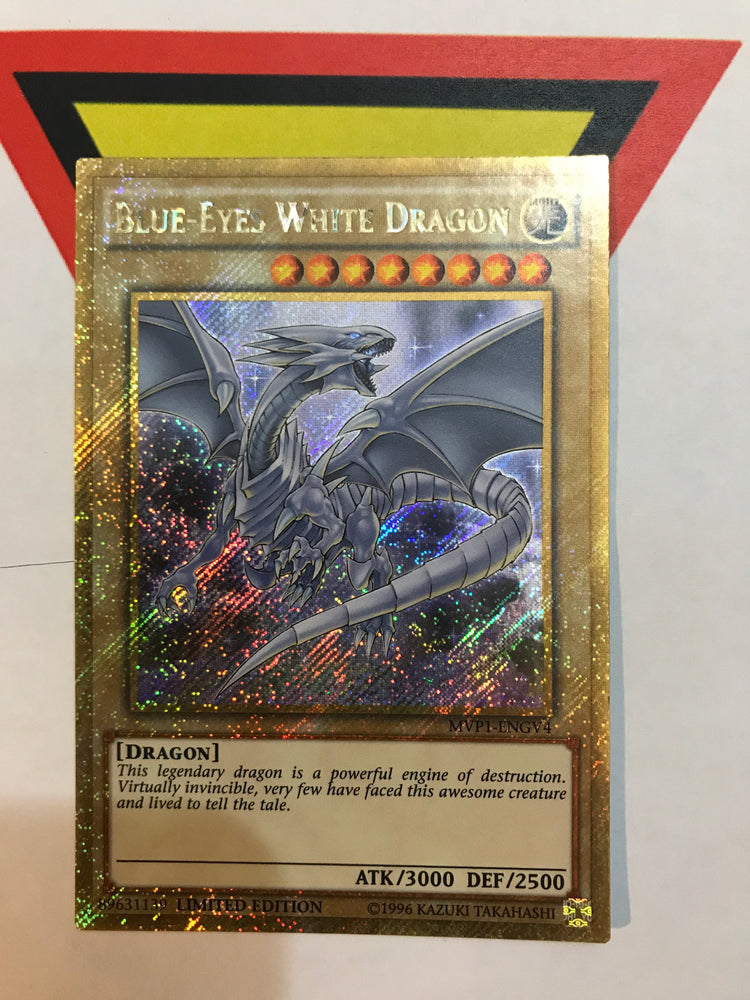 Blue-Eyes White Dragon / Gold Secret - MVP1-ENGV4 - Lim/1st/Unl