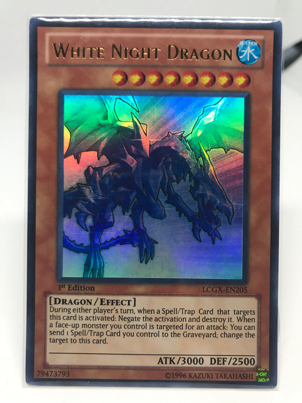 White Night Dragon / Ultra - LCGX-EN205 - 1st