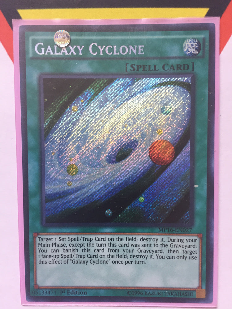 Galaxy Cyclone / Secret - MP16-EN027 - 1st