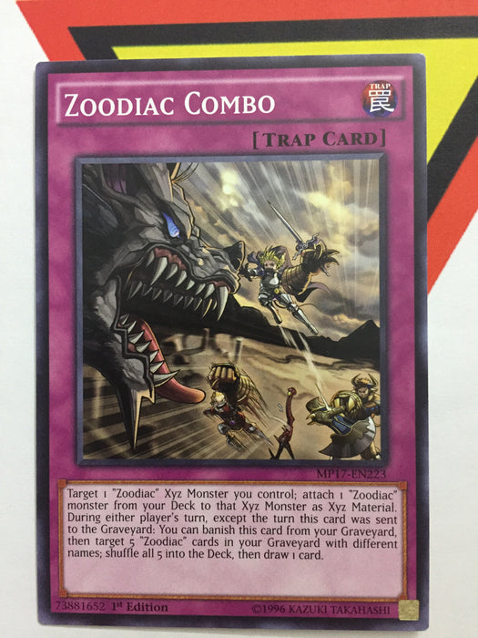 ZOODIAC COMBO - COMMON - Various - 1ST