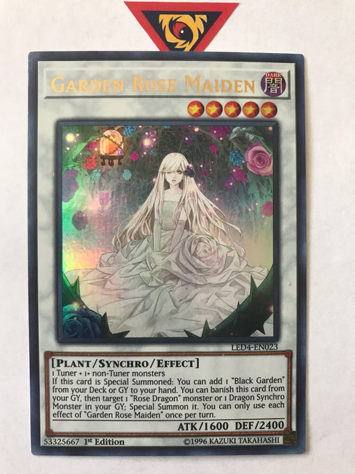 Garden Rose Maiden / Ultra - LED4-EN023 - 1st