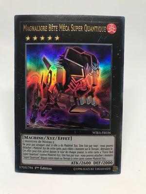 Super Quantal Mech Beast Magnaliger (French) / Ultra - WIRA-FR036 - 1st