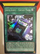 ABYSS SCRIPT - FANTASY MAGIC - SUPER - DESO-EN023 - 1ST