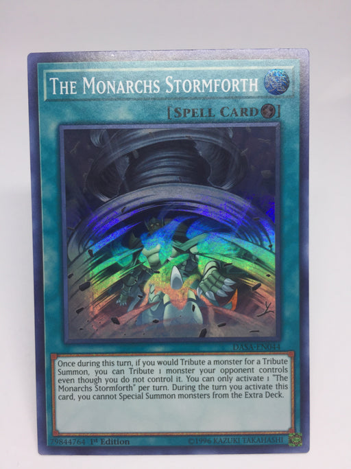 The Monarchs Stormforth / Super - DASA-EN044 - 1st