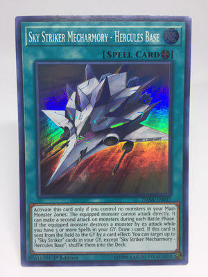 Sky Striker Mecharmory - Hercules Base / Super - DASA-EN037 - 1st