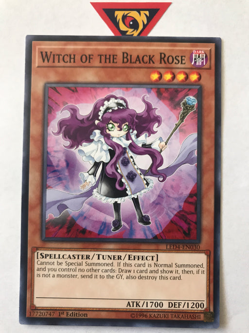 Witch of the Black Rose / Common - LED4-EN030 - 1st