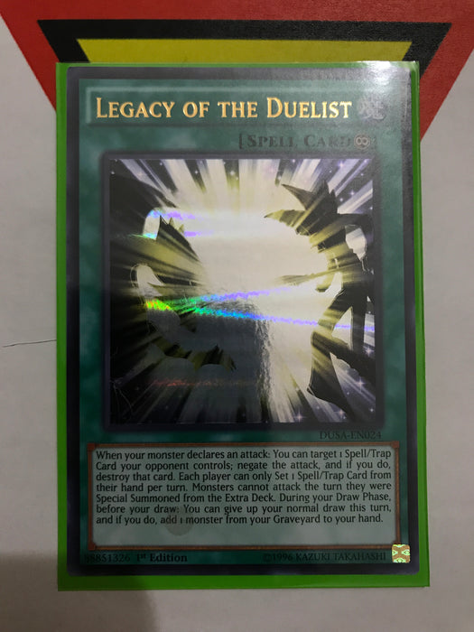 Legacy of the Duelist - Ultra - DUSA-EN024 - 1st