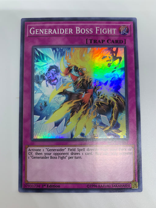 Generaider Boss Fight / Super - MYFI-EN037 - 1st