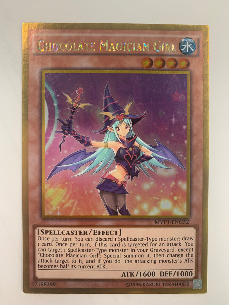 CHOCOLATE MAGICIAN GIRL - GOLD - MVP1-ENG52