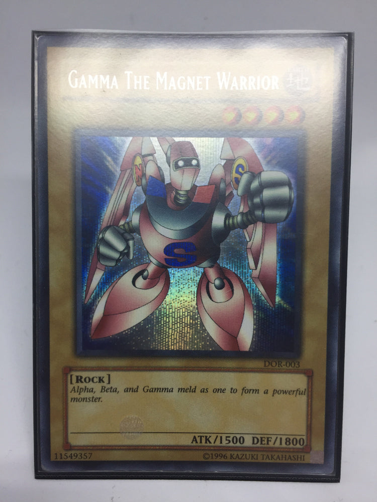 Gamma the Magnet Warrior / Prismatic Secret - DOR-003 - Played