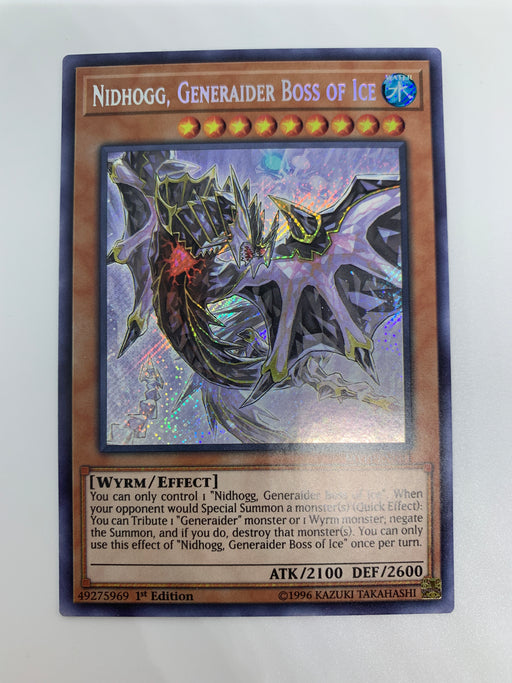 Nidhogg, Generaider Boss of Ice / Secret - MYFI-EN031 - 1st
