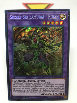 Secret Six Samurai - Rihan / Secret - SPWA-EN006 - 1st