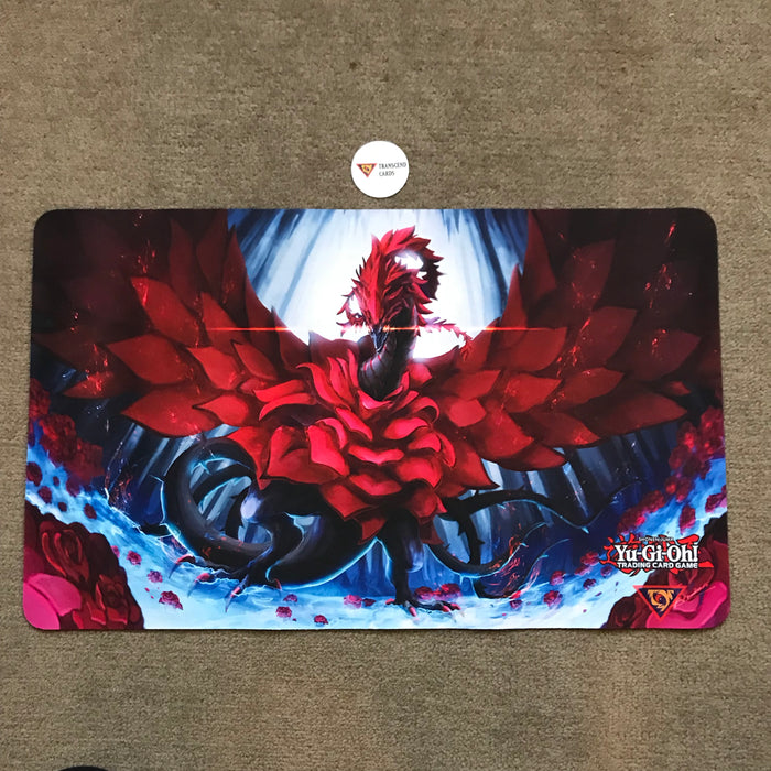 Playmat / Mouse Pad: Black Rose Dragon [FREE SHIP USA]