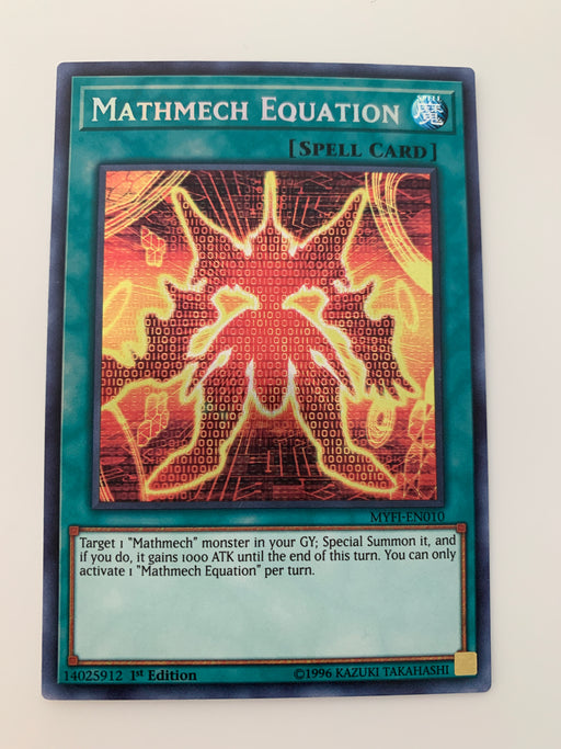 Mathmech Equation / Secret - MYFI-EN010 - 1st