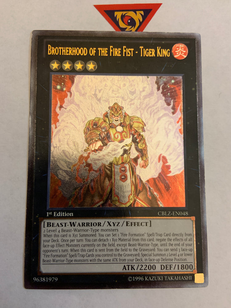 Brotherhood of the Fire Fist - Tiger King / Ultimate - CBLZ-EN048 - 1st - VLP