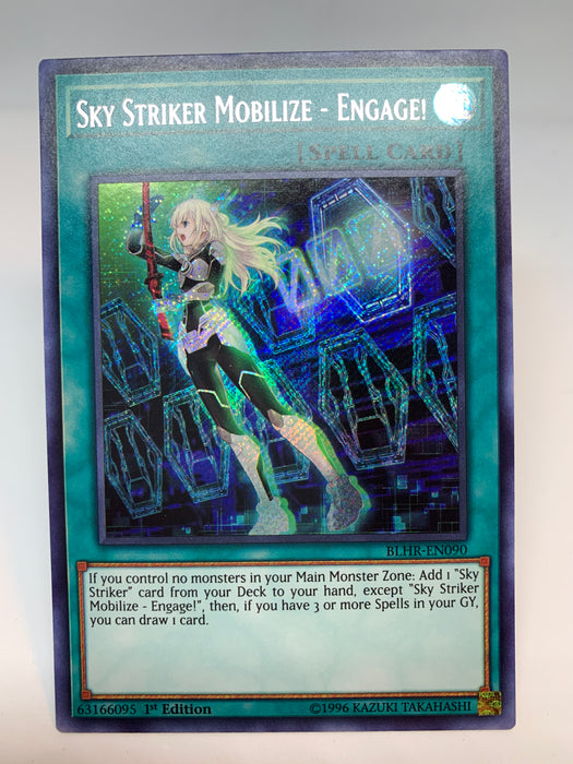 Sky Striker Mobilize - Engage! / Secret - BLHR-EN090 - 1st