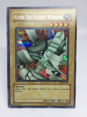 Alpha The Magnet Warrior / Prismatic Secret - DOR-001 - LP (Scratched in Centre)