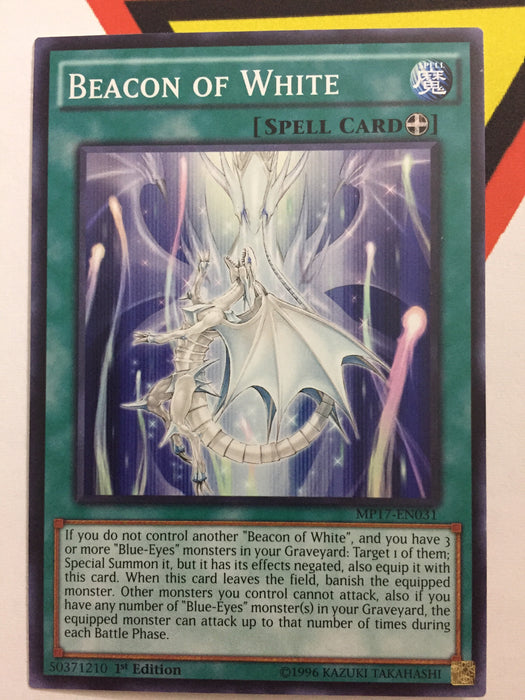 BEACON OF WHITE - COMMON - MP17-EN031 - 1ST
