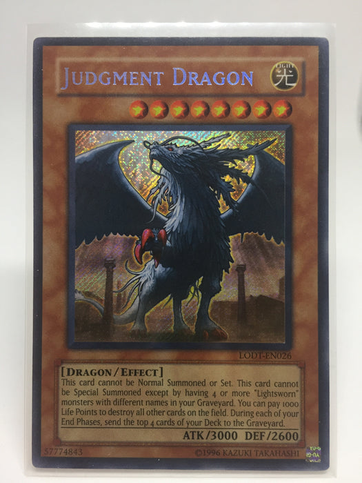 Judgement Dragon / Secret - LODT-EN026