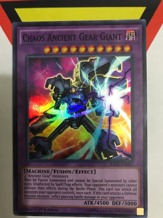 CHAOS ANCIENT GEAR GIANT - SUPER - RATE-EN041 - 1ST