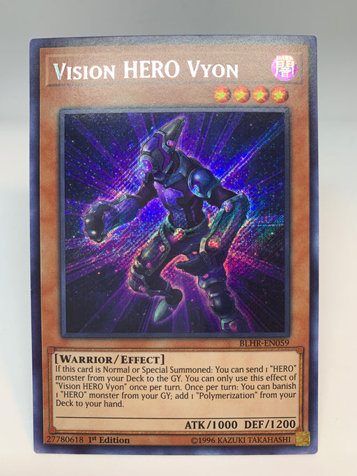 Vision HERO Vyon / Secret - BLHR-EN059 - 1st