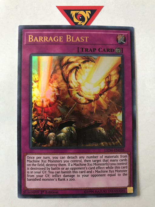 Barrage Blast / Ultra - LED4-EN038 - 1st