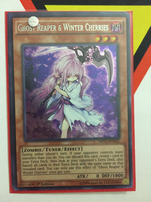 GHOST REAPER & WINTER CHERRIES - SECRET - MP17-EN022 - 1ST