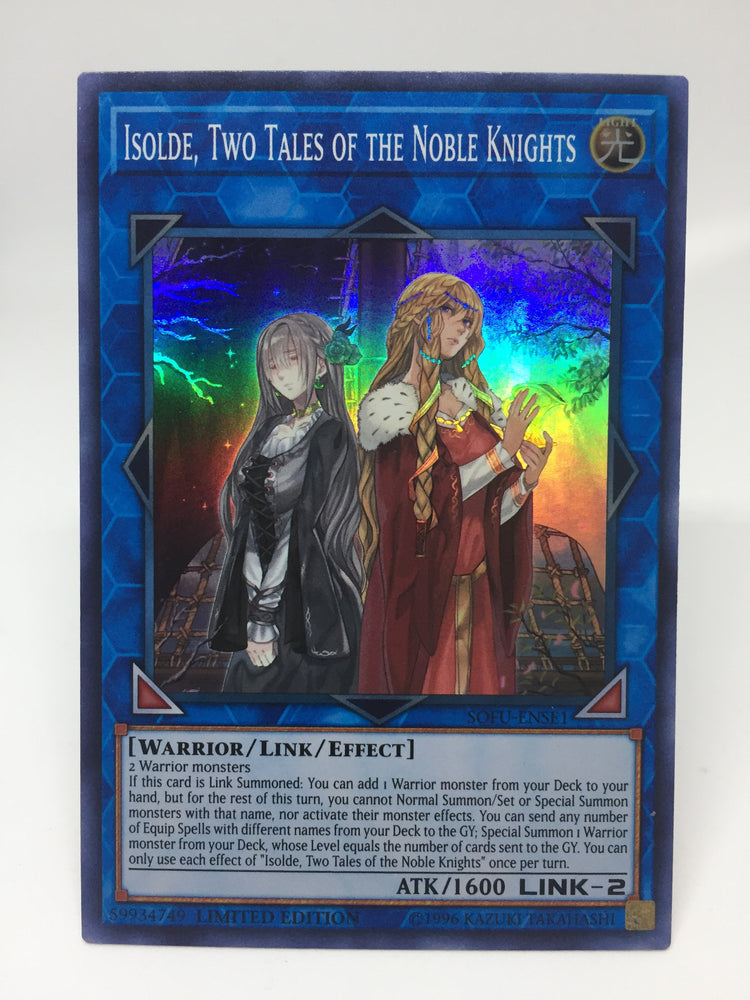 Isolde, Two Tales of the Noble Knights / Super - SOFU-ENSE1 - Lim