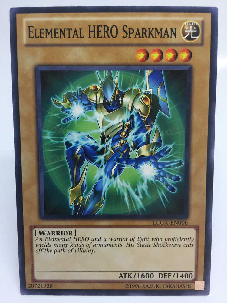Elemental HERO Sparkman / Common - LCGX-EN006